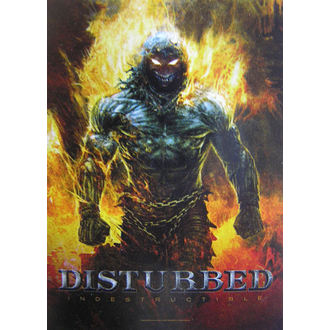Disturbed 'Indestructible' zászló HFL 1022, HEART ROCK, Disturbed