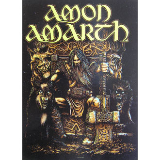 Amon Amarth zászló HFL 1027, HEART ROCK, Amon Amarth