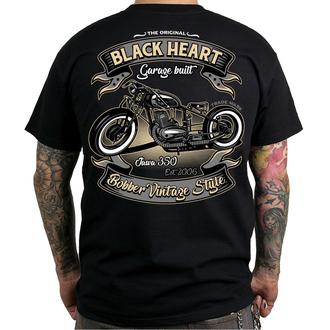 utcai póló férfi - JAWA BOBBER - BLACK HEART, BLACK HEART