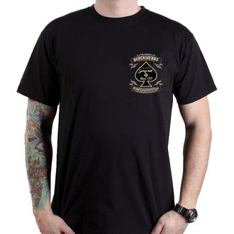 tričko pánské BLACK HEART - JAWA BOBBER - BLACK, BLACK HEART