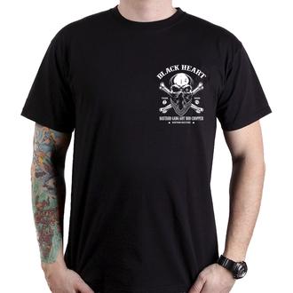 utcai póló férfi - ROBBER - BLACK HEART, BLACK HEART