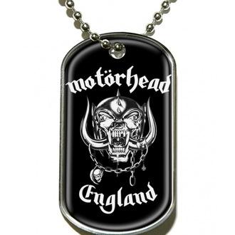 nyakörv 'kutya jelvény' Motörhead 'England' - DT019, RAZAMATAZ, Motörhead