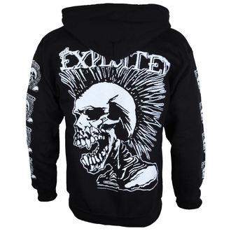 Férfi pulóver The Exploited 'Mohican Skull' ZH112, RAZAMATAZ, Exploited