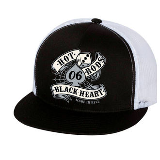 BLACK HEART sapka - LOLA - FEHÉR, BLACK HEART