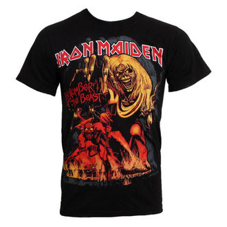 metál póló Iron Maiden - The Number of the Beast - ROCK OFF - IMTEE12
