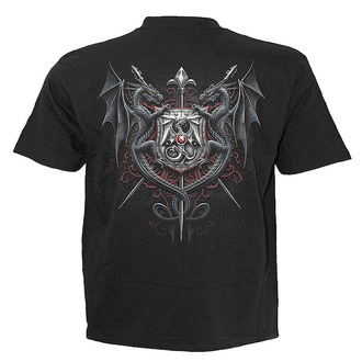 SPIRAL férfi póló 'Dragon Kingdom' BLK, SPIRAL