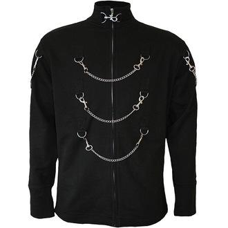 pulóver (kapucni nélkül) férfi - Black - SPIRAL