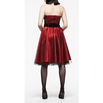 ruha női HELL BUNNY 'Songstree Dress (RED/BLACK), HELL BUNNY