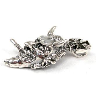 kulcstartó ezüst Devil - BR 2