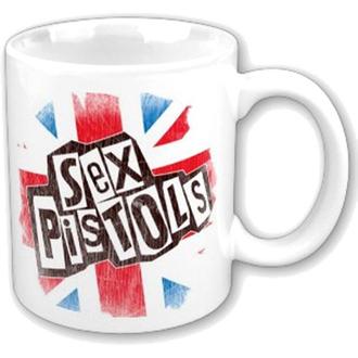 bögre Sex Pistols - Logo Flag Fridge Boxed Mug - ROCK OFF, ROCK OFF, Sex Pistols