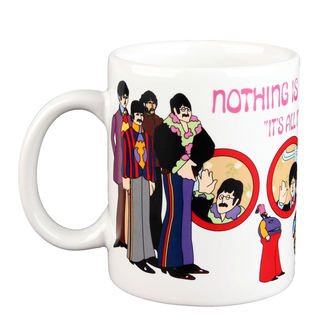 bögre Beatles - Yellow Sub Nothing is Real Boxed Mug - ROCK OFF, ROCK OFF, Beatles