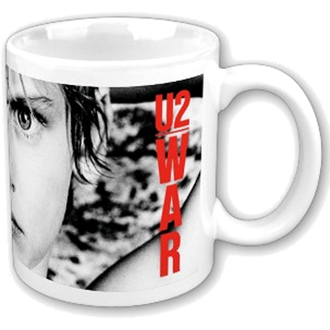 bögre U2 - War Boxed Mug - ROCK OFF, ROCK OFF, U2