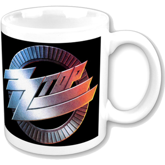bögre ZZ Top - ZZ Top Logo Mug - ROCK OFF, ROCK OFF, ZZ-Top