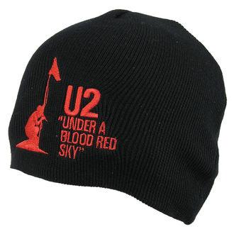 sapka U2 - U2 Beanie Hat Under A Blood Red Sky - ROCK OFF, ROCK OFF, U2