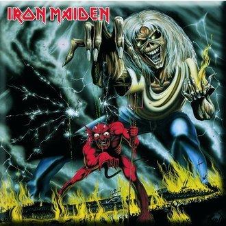 magnet Iron Maiden - Number Of Of Beast Fridge Magnet - ROCK OFF, ROCK OFF, Iron Maiden