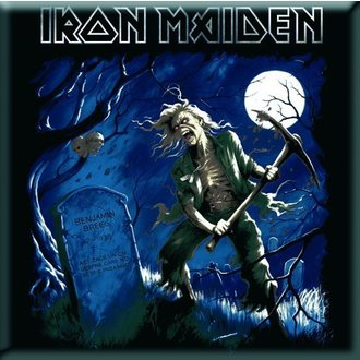 magnet Iron Maiden - Benjamin Breege Fridge Magnet - ROCK OFF, ROCK OFF, Iron Maiden