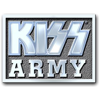 kitűző Kiss - Army Block pin badge - ROCK OFF, ROCK OFF, Kiss