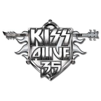 kitűző Kiss - Alive 35 Tour pin badge - ROCK OFF, ROCK OFF, Kiss