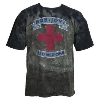 metál póló férfi Bon Jovi - Bad Medicine - LIQUID BLUE - 11952