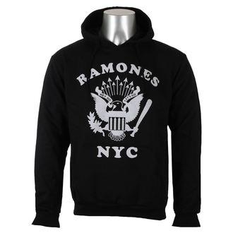kapucnis pulóver férfi Ramones - Retro Eagle NYC - ROCK OFF, ROCK OFF, Ramones
