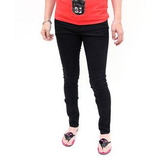 nadrág női -skinny- IRON FIST - Heatlocked - BLACK, IRON FIST