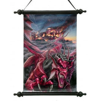 tekercs Art Scroll - Dragons Night