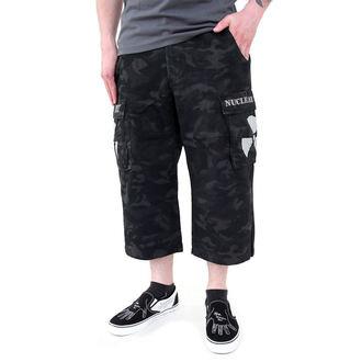 rövidnadrág férfi Black Camouflage - NUCLEAR BLAST, NUCLEAR BLAST