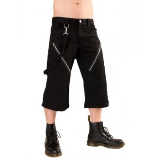 rövidnadrág 3/4 férfi Black Pistol - Zip Short Pants Denim Black, BLACK PISTOL