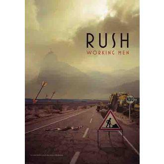 zászló Rush - Working Men, HEART ROCK, Rush