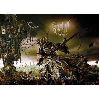 zászló Children Of Bodom - Relentless, HEART ROCK, Children of Bodom