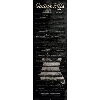 poszter Guitar - Riffs, Reinders