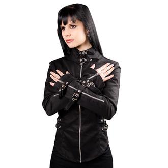 ing női Black Pistol - Buckle Blouse Denim Black, BLACK PISTOL