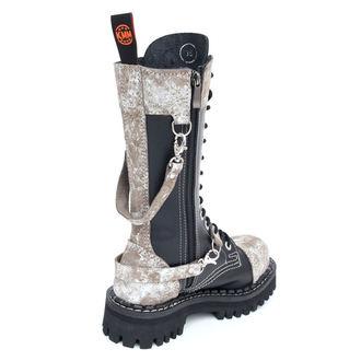 KMM cipő 14 lyukú - Black/Grey, KMM