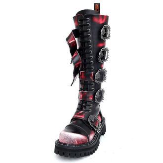 KMM cipő 20 lyukú - Big Skull Black Red White Monster 5P - 205
