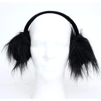 klapky  fülre POIZEN INDUSTRIES - Fur Muffs, POIZEN INDUSTRIES