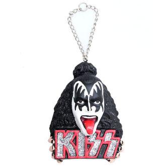 karácsonyi dekoráció KISS - Demon Head Ornament - ROCK OFF, ROCK OFF, Kiss
