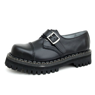 KMM cipő 3 lyukú - Black  csattal, KMM