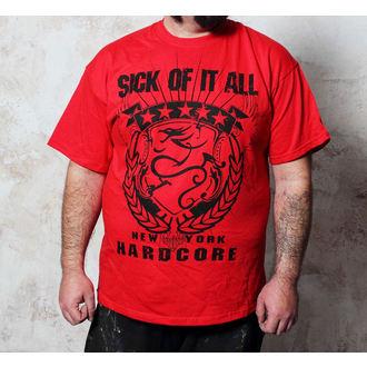 metál póló férfi Sick of it All - HC Crest - Buckaneer, Buckaneer, Sick of it All