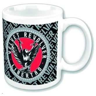 bögre Velvet Revolver - Circle Logo, ROCK OFF, Velvet Revolver