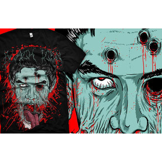 hardcore póló férfi - Face - BLACK ICON, BLACK ICON