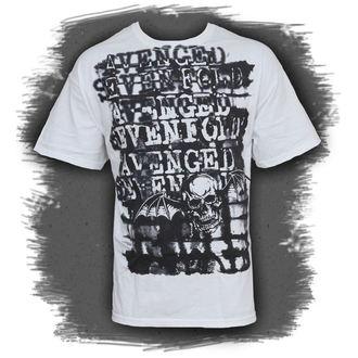 metál póló férfi Avenged Sevenfold - Ink Stripes - BRAVADO