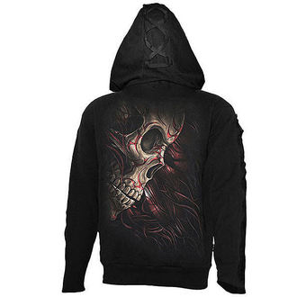 kapucnis pulóver férfi - Skull Tattoo Rev - SPIRAL, SPIRAL