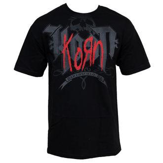 metál póló férfi Korn - Classic - BRAVADO, BRAVADO, Korn