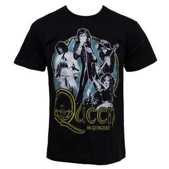metál póló férfi Queen - In Concert - BRAVADO, BRAVADO, Queen