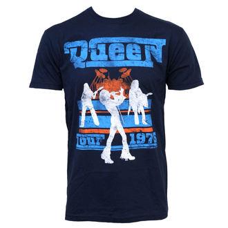 metál póló férfi Queen - Tour 76 - BRAVADO, BRAVADO, Queen