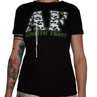 metál póló női Agnostic Front - Skulls - RAGEWEAR, RAGEWEAR, Agnostic Front