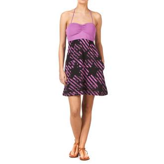 ruha női FOX - Stripe Out Dress, FOX