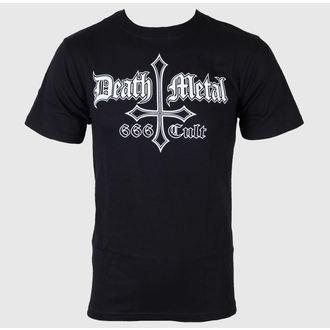 metál póló férfi - Death Metal 666 Cult - Just Say Rock, Just Say Rock