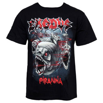 metál póló férfi Exodus - Piranha - LIVE NATION - PE11461TSBP