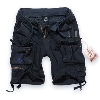 rövidnadrág férfi Brandit - Gladiator Vintage Shorts Black, BRANDIT